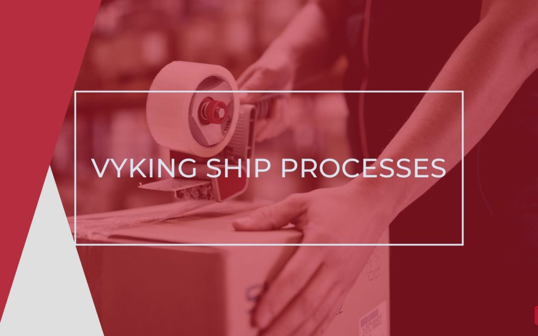How to Use your Vyking Ship Account Dashboard