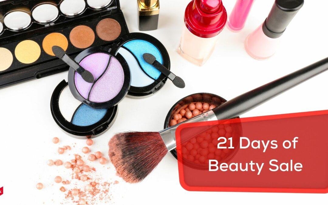 21 days of Ulta Beauty sale